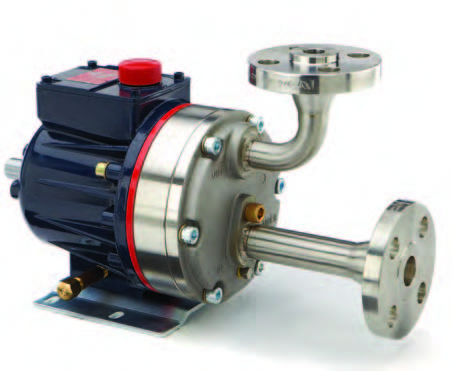 D10 Hydra-Cell Pump with flanged ports
