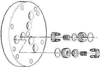 D12 Hydra-Cell pump check valves
