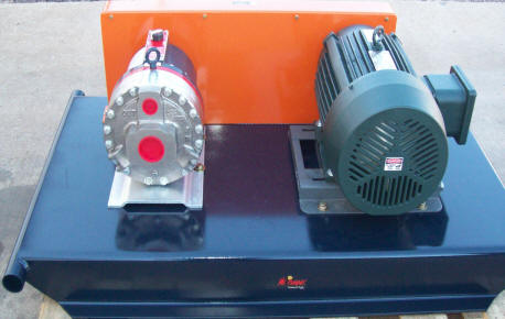D66 Hydra Cell Pump with adjustible motor base