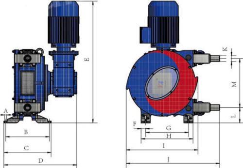 Hefei Huayun IHP20-IHP32Z Dimensions