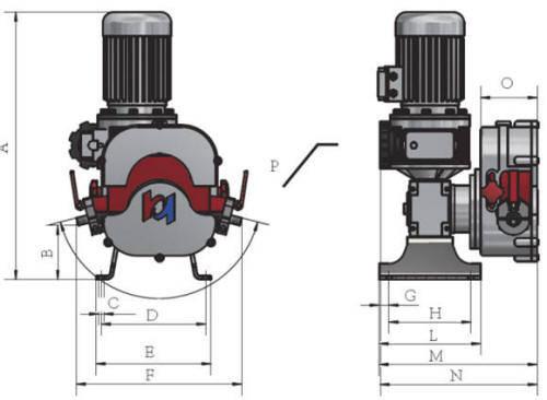 Hefei Huayun IHP5-IHP15Z Dimensions