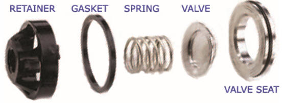 Hydra-Cell pump check valve materials