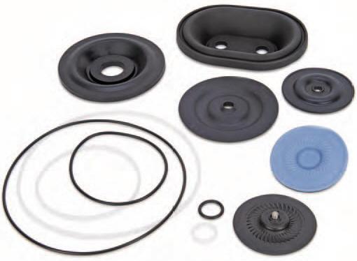 Hydra-Cell pump elastomer materials