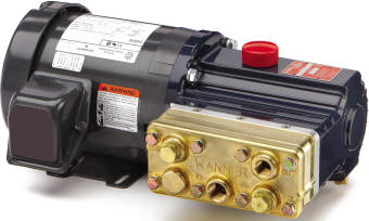 M03 Hydra Cell pump with motor