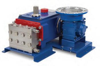 MT8 high pressure metering pump