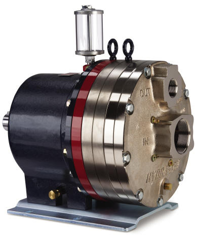 D66 Hydra-Cell Pump with 316SS ANSI flanged connections