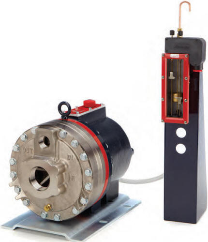 D35 Hydra-Cell pump with oil level monitor
