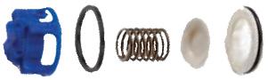 p300 hydra cell pump check valve assembly