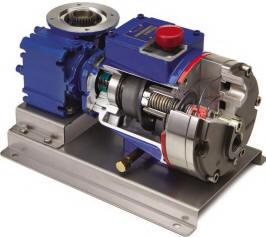 P400 hydra cell metering pump cutaway