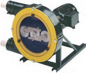 Model 2005 peristaltic pump