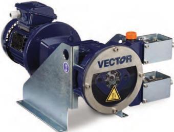 Vector model 4003 peristaltic pump