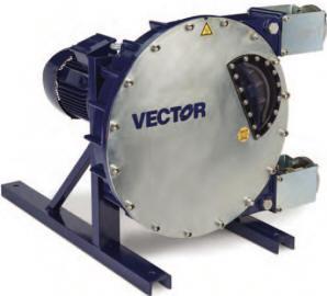 Vector model 4010 peristaltic pump