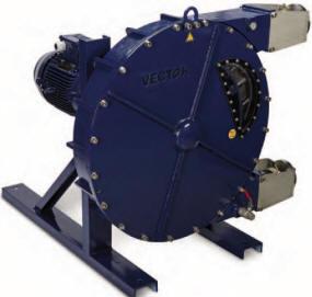 Model 4014 peristaltic pump