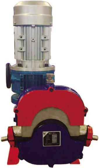 Hua Yun Models IHP5-15Z Hose Pump Picture