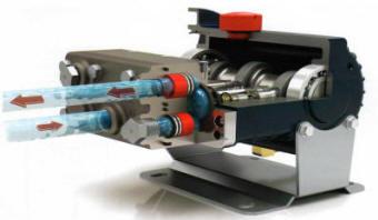 D/M03 and D04 Hydra Cell Pump Cutaway