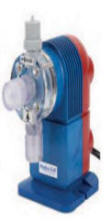 manually controlled stroke speed metering pump